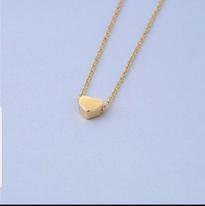 Jewelry - 🌟NEW🌟 Dainty Gold Heart Pendant Necklace